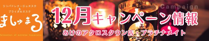 【ましゅまろ】12月キャンペーン情報!(ましゅまろ)